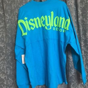Tops - Disney Spirit Jersey Turquoise and Neon Green